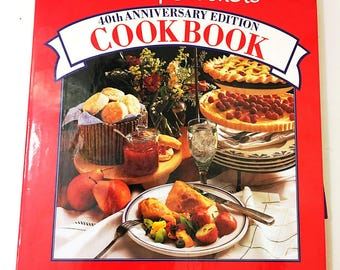 Betty Crocker's 40th Anniversary Cookbook.  Vintage Cookbook.  Rare & Collectible Cook book.  Circa 1991.  Prentice Hall.