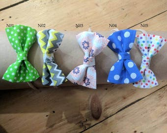 Beautiful Fabric Bow on a Nylon Headband