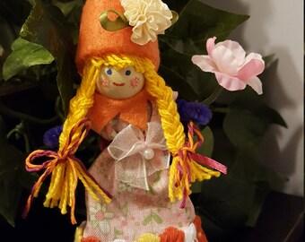 Flora the flower doll