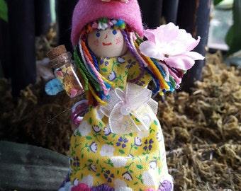 Enchanted Flower Girl