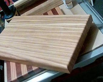 Select Hickory Chopping Block.