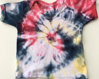 Toddler tie dye t-shirt 12-18 months