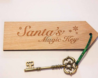 Santa's Key. Santa's Magic Key. Santa Key. Magic Key. Father Christmas key. Christmas Eve Key.