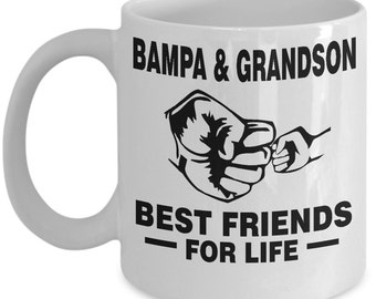 Bampa and Grandson Best Friends For Life Mug - Bampa and Grandson Mug - Bampa and Grandson Gift - Bampa and Grandson Coffee Mug