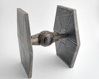 Star Wars TIE Fighter - Wooden Figurine