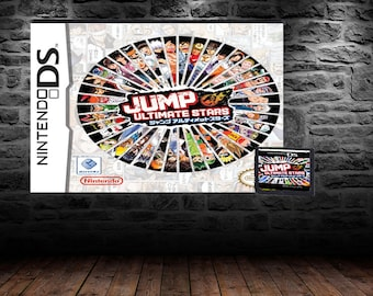 Jump Ultimate All Stars - Fight with your favorite Anime/Manga Characters - DS - English Translation - Shonen Jump