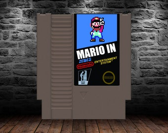 Mario in Zebes - Rescue Mario from Cyber-Ridley - NES