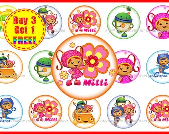Team Umizoomi - Team Umizoomi Bottle Cap Images - Instant Download - High Resolution Images - Buy 3, Get 1 FREE