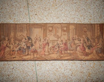 Vintage French Beautiful Party Tapestry 069