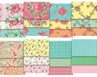 5inX5in 42PCS  Sugar Bloom Verna Mosquera 5inX5in charm Pack 42PCS New In Package 210913