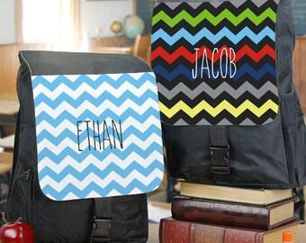 Personalized Chevron Backpack Custom Name Gift