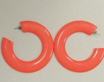 Neon Oversized Earrings