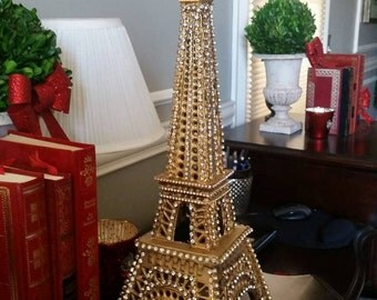 Eiffel Tower Statue Candle holder