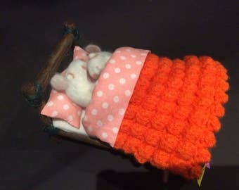 Just married felted mice