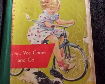 1956 We Come & Go public school reader.