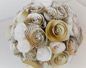 Vintage Paper Bouquet/Posy