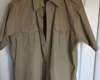 1970's Safari style Hunting shirt