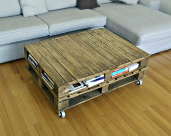 Recycled Rustic Coffee Table. Rustic table, Upcycled Table