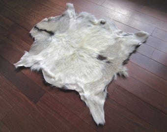 Fab vintage real nordic goat hide. FREE SHIPPING in USA and Canada