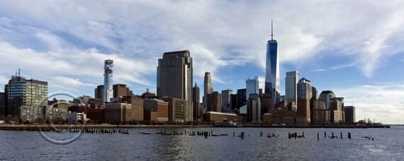 NY Skyline, NY,NY City,Manhattan,Skyline,Manhattan Skyline,Wall Picture,Home Decor,Home Decor Office,Gift,Photo,Horizontal
