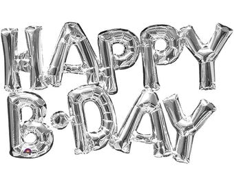 Happy Birthday Balloon Phrase  Mylar