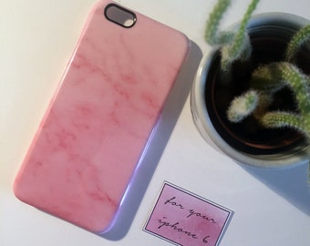 Pink Marble Phone case (Iphone 6 and 6S)