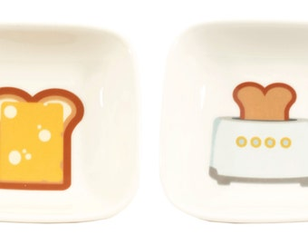 little toaster an toast dishes