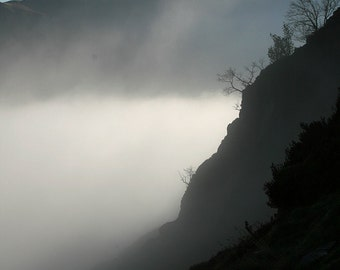 Instant download  digital photograph- Misty view  over Newlands Valley, Lake District