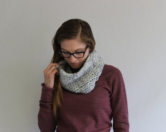 Ribbed Cowl- Single Wrap