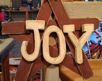 Christmas Star with Joy