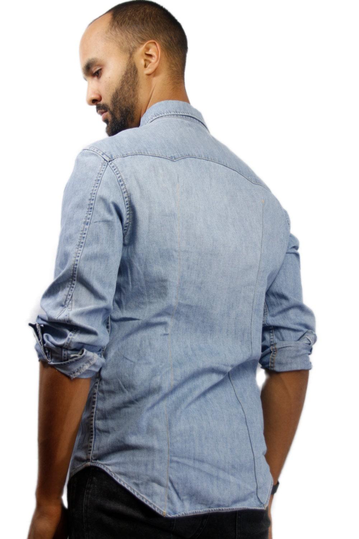 levis shirt levis denim shirt oversized jean shirt. Black Bedroom Furniture Sets. Home Design Ideas
