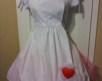 Alice in wonderland apron