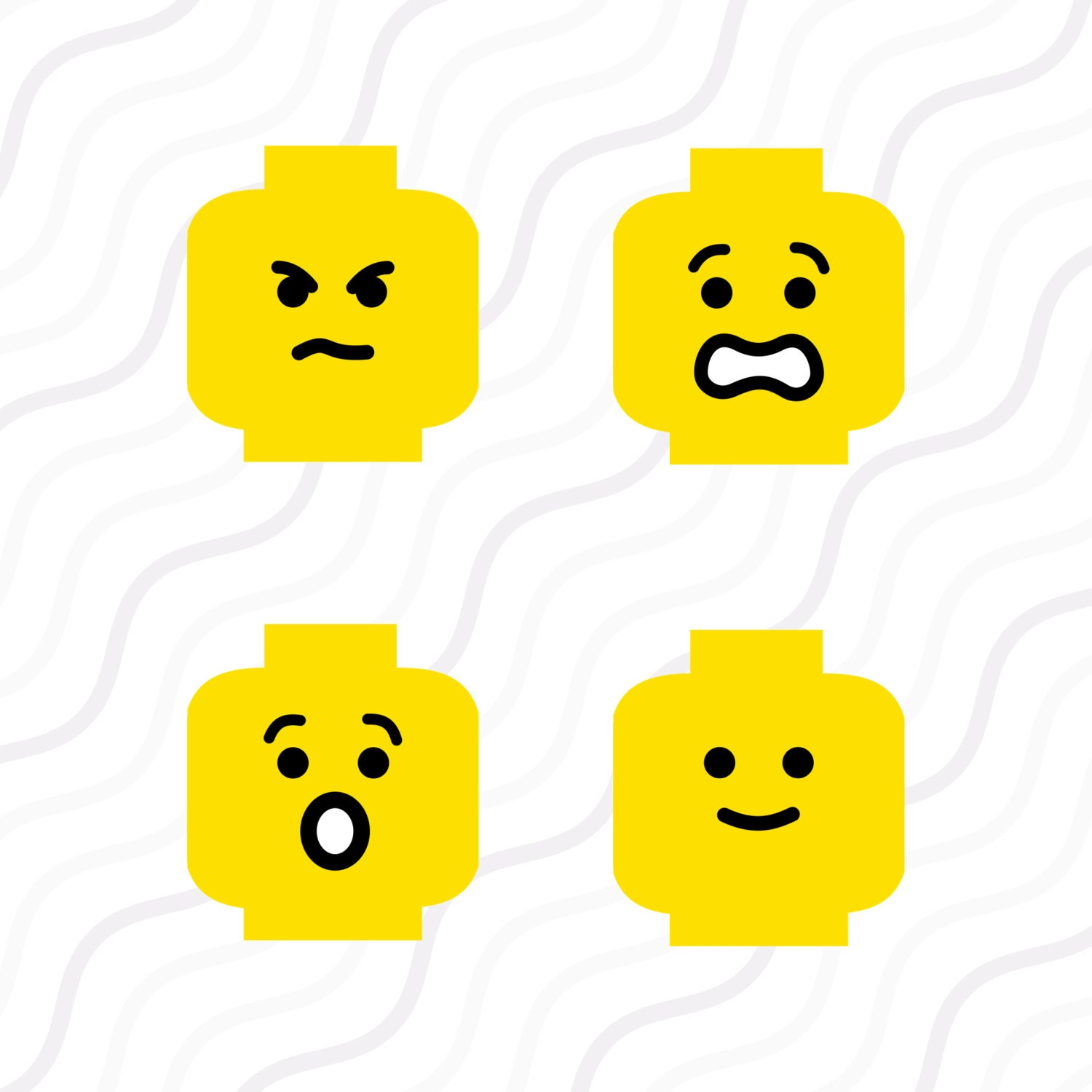 Download Lego Face SVG Lego SVG Lego Head SVG Cut by svgsilhouettecuts