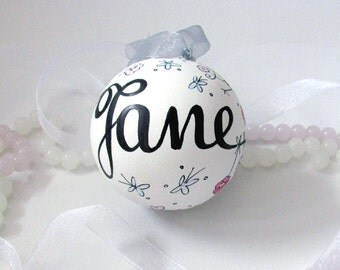Unique Custom&Personalized Gift - Custom made Ceramics with a Name/Message of Your Choice - Made just for You - Unique Personalized Art Gift