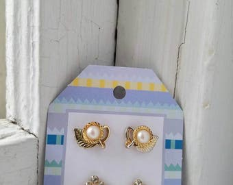 Vintage Costume Jewelry Earring Pack