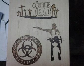 Walking Dead Wall Art