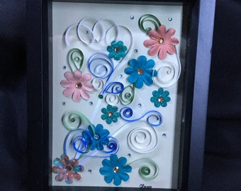 Floral explosion Quilling
