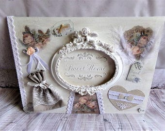 Table deco home shabby chic Sweet Home
