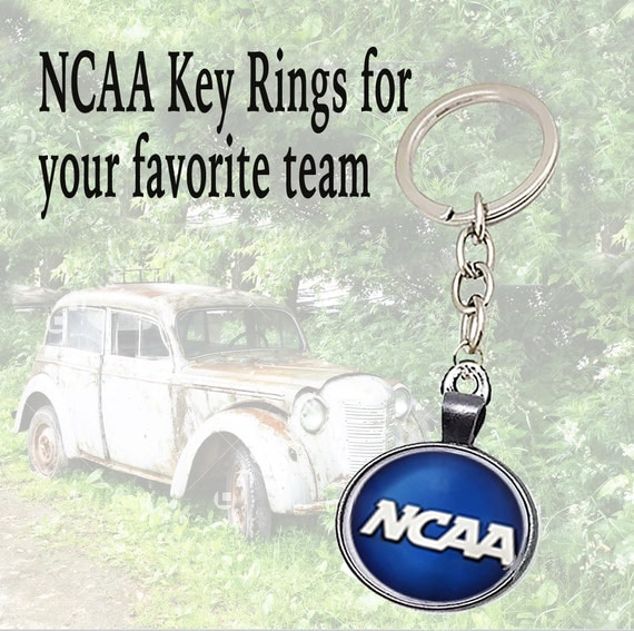 Key Rings for COLLEGE Champions!  **FREE U.S. SHIPPING**