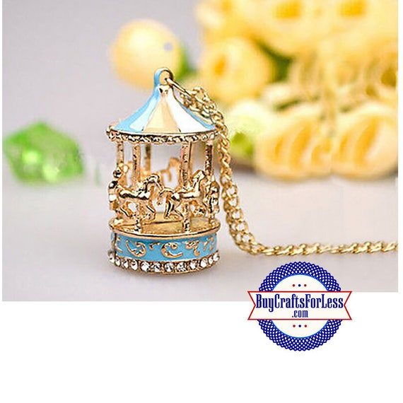 CAROUSEL Pendant, Colorful - Very Cute  +Discounts & FREE Shipping*
