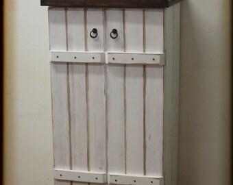 Shoe cabinet, Shabby-Chic, unique, vintage