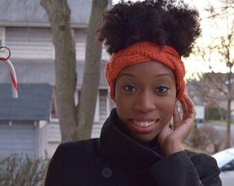 Braided crochet headband, Crochet Headband, crochet Turban, Crochet ear warmer, braided headband, giftfor her, ear warmer