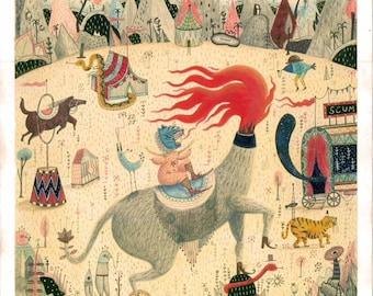 Scum Circus A3 prints