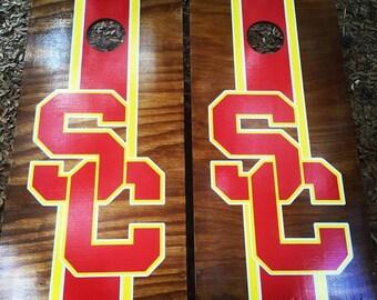 USC Cornhole Set With Bags