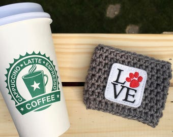 Pet Cozy/Pet Love Cozy/Coffee Cozy/Coffee Sleeve
