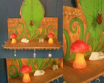 Rain Forest Jewelry Organizer