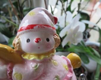 Horse Pink Rocking ceramic piggy bank