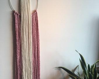 Fiber Wall Hanging- Fiber Art - Wall Decor