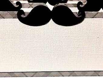 MustacheThemed Food Place Cards, Mustache Baby Shower, Mustache food tent, Mustache Birthday, Mustache Decorations, Plaid Light Teal or Gray