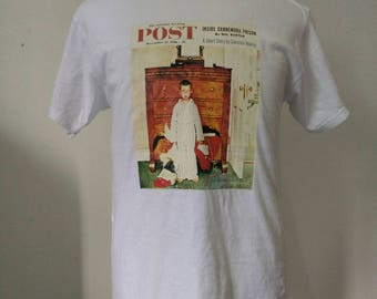 The Saturday Evening Post Norman Rockwell shirt